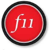 F11 Magazine logo
