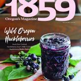 1859 Oregon's Magazine - Adventure Mail logo